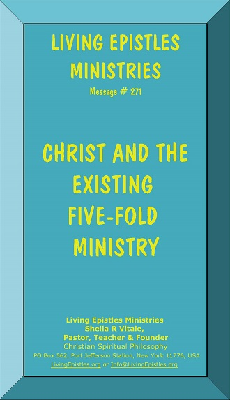 ChristAndTheExistingFiveFoldMinistry.LEM.271.050516.Cover